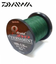 Daiwa Tournament 8 Braid EVO Tm.zelená