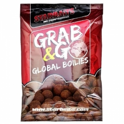 StarBaits Global Boilies 10kg Tygří ořech
