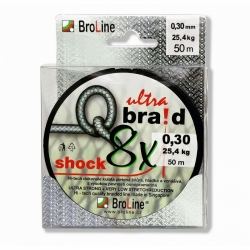 BroLine Q braid 8x SHOCK 50m